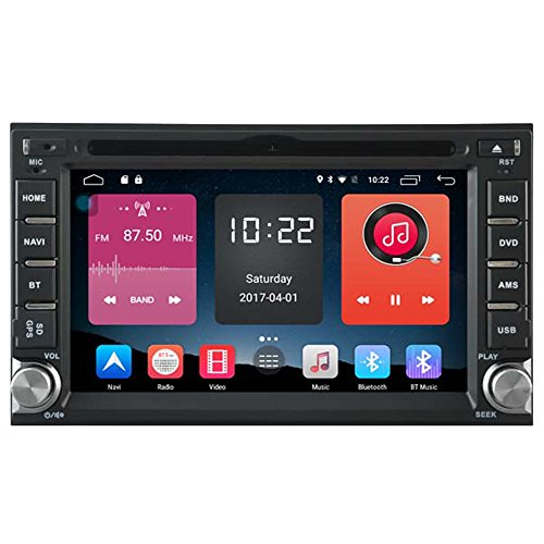 Autosion In Dash Android 6.0 Car DVD Player Sat Nav Radio Head Unit GPS Navigation Stereo for Nissan Qashqai 2007-2012 Tiida 2004-2011 Paladin 2005-2011 Support Bluetooth SD USB Radio WIFI DVR 1080P by Autosion