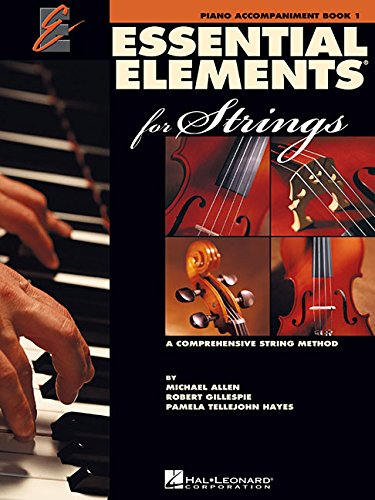Essential Elements for Strings - Book 1: Piano Accompaniment