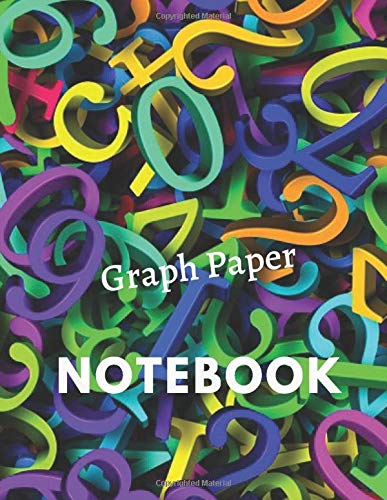 Graph Paper Composition Notebook: Grid Paper Notebook, Quad Ruled, 110 Sheets (Large, 8.5 x 11) Danny Prints