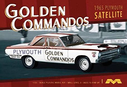 Moebius 1965 Plymouth Belvedere Golden Commando Drag Car Kit