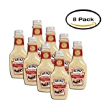 PACK OF 8 - Heinz Premium Horseradish Sauce, 12.5 FL OZ (369ml) Bottle
