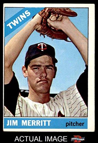 1966 Topps # 97 Jim Merritt Minnesota Twins (Baseball Card) Dean's Cards 4 - VG/EX - Minnesota Twins 1966