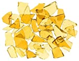 Mixed Gold Stained Glass Cobbles-2.5 ounces