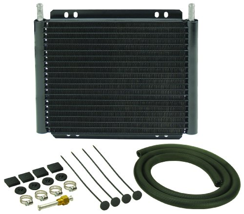 - Derale 13503 Series 8000 Plate and Fin Transmission Oil Cooler