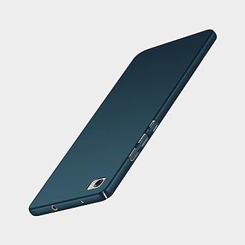 Funda Huawei P8 Lite (2016) , FANSONG Ultra Delgado Anti-scratch Antigolpes PC duro Carcasa Caso para Huawei P8 Lite (2016) Case (azul marino)