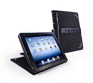 Tuff-Luv E4_24_5055261887025 Folio Negro funda para tablet - fundas para tablets (Folio, Negro, Apple, iPad 2, iPad (Retina))
