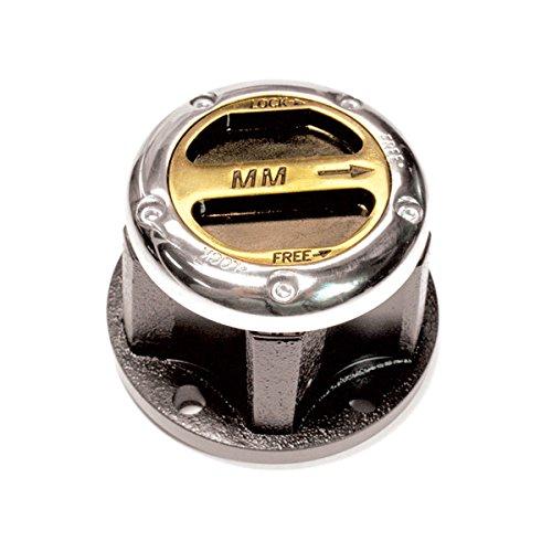 Mile Marker 481 MileMarker Supreme; Manual Hub; 10 Spline; 6 Bolts;