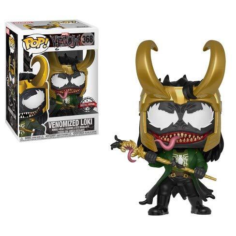 Funko Pop Marvel: Venom - Venomized Loki Collectible Figure, Multicolor