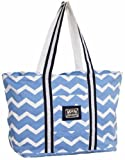 Equine Couture Women's Abby Tote Bag, Parisian Blue/Navy, Standard