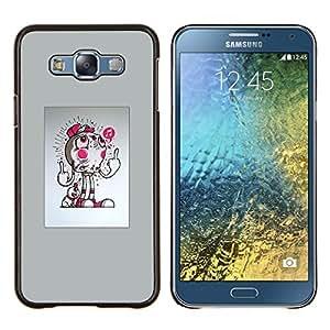 """Be-Star Único Patrón Plástico Duro Fundas Cover Cubre Hard Case Cover Para Samsung Galaxy E7 / SM-E700 ( Resumen del tirón"""" )"""