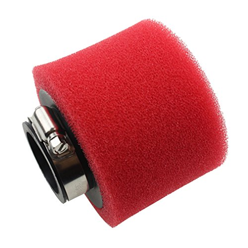 GOOFIT 38mm Foam Air Filter for 4-stroke 50cc 70cc 90cc 110cc 125cc ATV and Dirt Bike Red (Air Filter Stroke 2 Motorcycle)