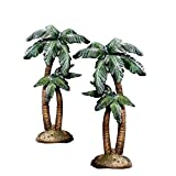 Wondrous Night Nativity Sculpted Palm Tree Accessory by Hawthorne Village