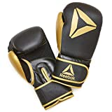 Reebok Boxing Gloves - Gold/Black, 10oz