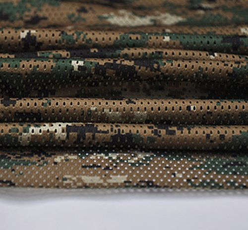 Digital Woodland Camouflage Camo Net Cover Army Military 60