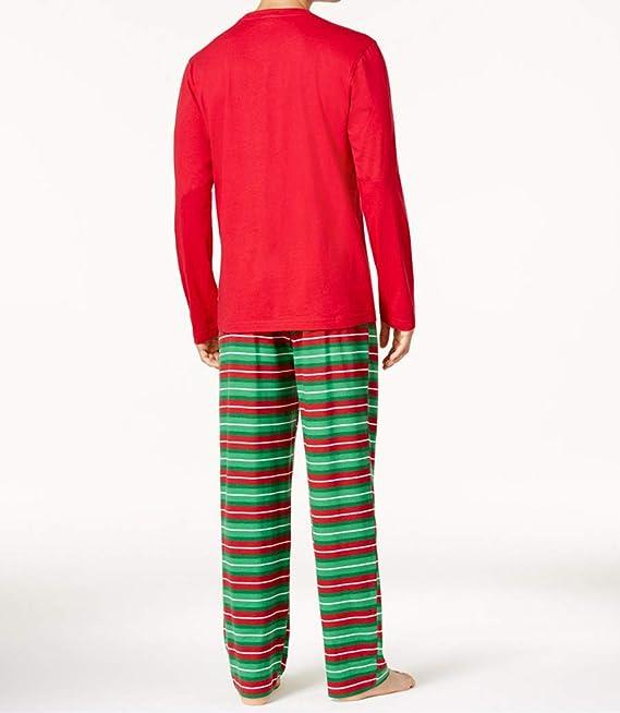 Hatoys Family Pajamas Sleepwear Christmas Santa Tops Plaid Pants Outfits  Sets for Adult Baby 452da7644