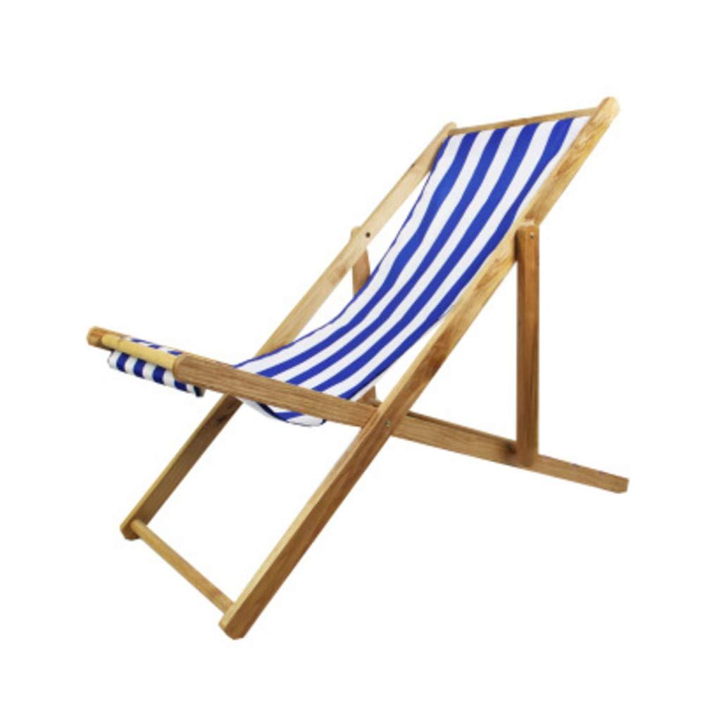 Bois Chaise de Plage, Pliable Pliante Chaise hamac avec