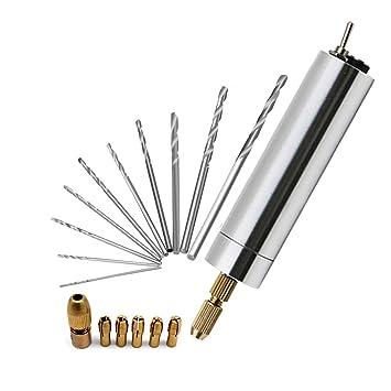 3,7v Elektrisch Mini Drill Bohrmaschine Handbohrmaschine Handbohrer PCB Alu