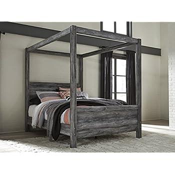 Amazon Com Dhp Modern Canopy Bed Frame Classic Design