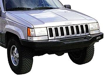 Amazon Com Hanson Offroad Jzj1102 P Front Winch Bumper Automotive