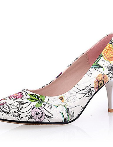GGX/Damen Schuhe-Frühling/Sommer/Herbst/Winter Heels/NEUHEIT/spitz Zehen/geschlossen Zehen heelswedding white-us5 / eu35 / uk3 / cn34