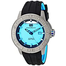 Technomarine Men's 'Reef' Automatic Titanium and Silicone Casual Watch, Color:Two Tone (Model: TM-516006)