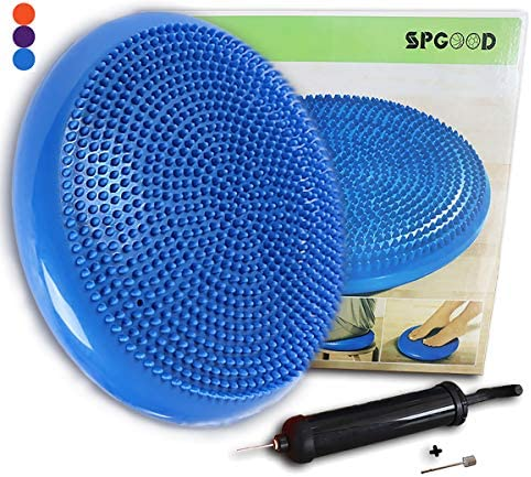 by Unbranded Inflated Stability Wobble Cushion Exercise Fitness Core Balance Disc Balance Disc Wobble disc