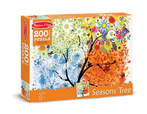 Melissa Doug Seasons Jigsaw Puzzle