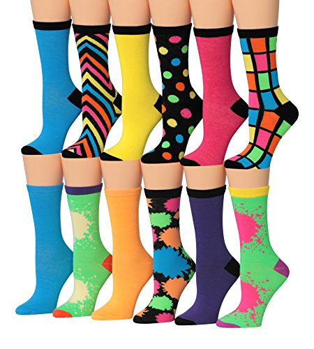 Tipi Toe Womens Colorful Patterned