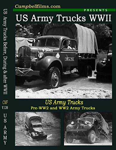 (US Army WWII Truck Old Films 4x4 off Road Ledo Rd Red Ball Dodge GMC DVD)