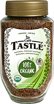 Cafe Tastlà 100% Organic Instant Coffee