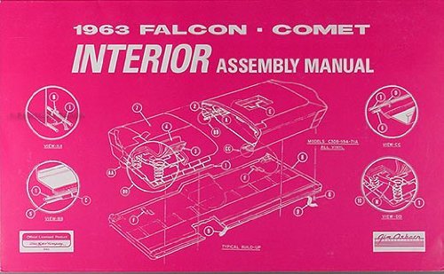 1963 falcon interior manual - 2