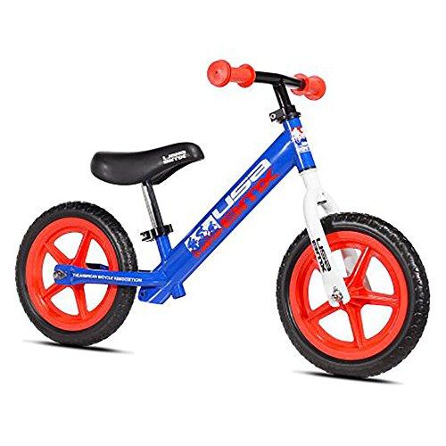 "USA BMX Balance Bike, 12"", Blue/Red -  KaZAM, 61290"