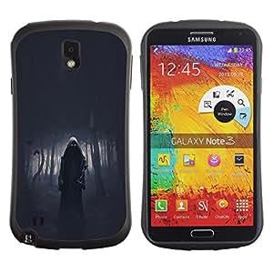 Suave TPU GEL Carcasa Funda Silicona Blando Estuche Caso de protección (para) Samsung Note 3 / CECELL Phone case / / Death Forest Death Metal Dark /