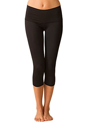 962dd8555dbe2 Amazon.com: Teeki Black Hot Pant Capri: Clothing