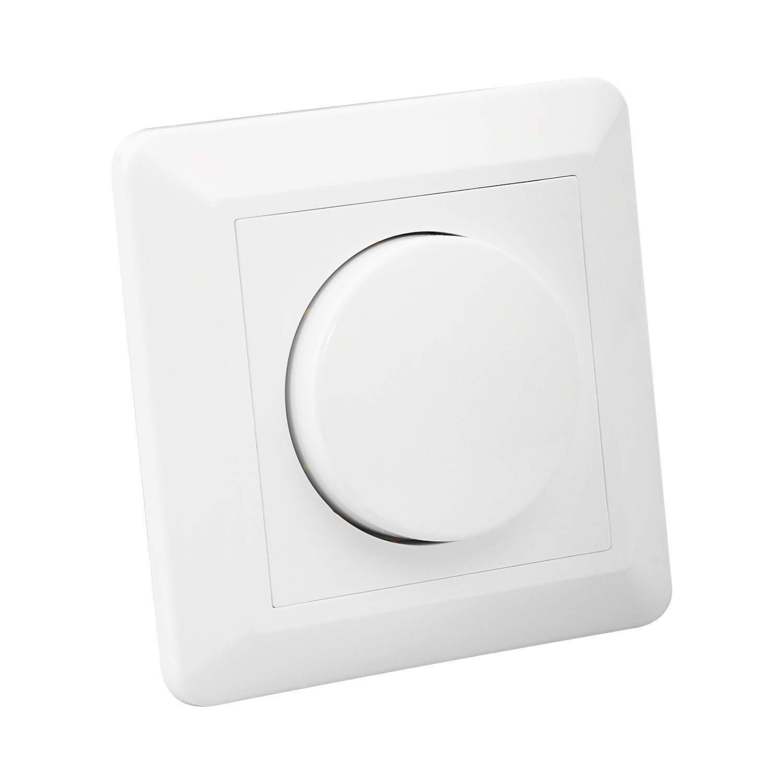 Regulador Interruptor Conmutado Universal LED Triac Blanco