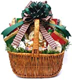 Gift Basket Village Holiday Cheese and Sausage Gift Basket, Large
