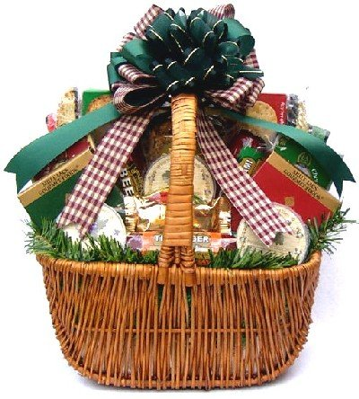 Holiday Season Spectacular Sausage and Cheese Gift Basket | Meat and Cheese Christmas Gift Basket (Meat Gifts For Christmas)