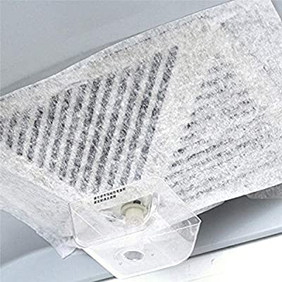 2 filtros universales para campana de cocina, no tejidos, papel absorbente de aceite, antiaceite, de algodón, para extractor de cocina: Amazon.es: Hogar