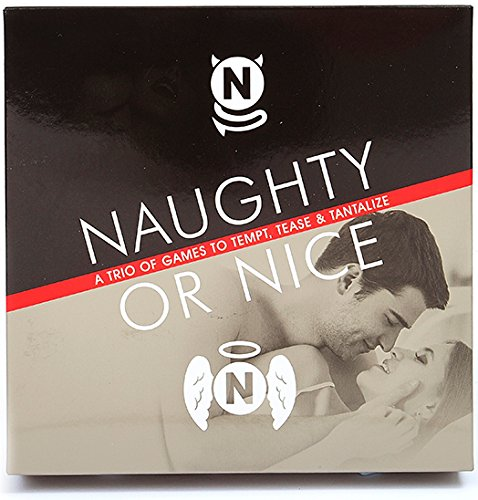 Naughty or Nice, Adult Game for Couples and Lovers, Bundle
