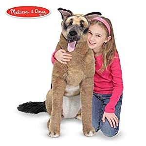 Melissa & Doug Giant German Shepherd - Lifelike Stuffed Animal Dog (over 2 feet tall) 4