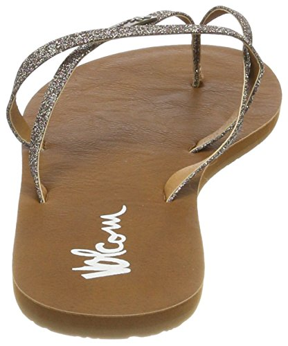 ed8b9efef17641 ... Volcom Damen Lo Fi Shoe Blau Sneaker Zehentrenner Mehrfarbig (Multi) ...