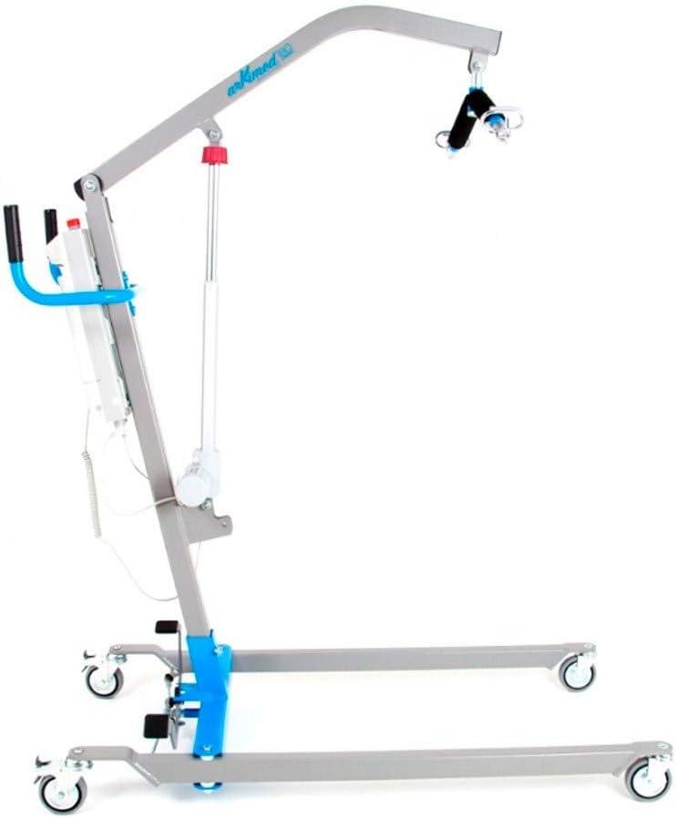 Grúa eléctrica | Sistema de apertura de pedal | Hasta 180kg