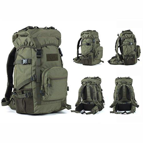 AMOS Uomo e donne borsa da montagna 45L sacchetto di spalla grande capacità zaino di viaggio
