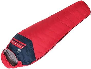 LESTRA Aporia Light Saco de Dormir, Unisex Adultos, Rojo, tamaño 210: Amazon.es: Deportes y aire libre