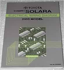 2003 Toyota Camry Solara Electrical Wiring Diagram Mcv20 Acv20 Series