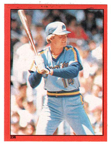 Tom Paciorek (Baseball Card) 1982 Topps Stickers # 236 M/MT