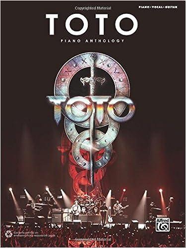 Toto Piano Anthology Pianovocalguitar Toto 9781470620097