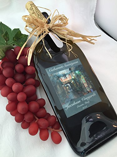 Personalized Wine Bottle cheese Board (Wine Bottle Cheese Board)