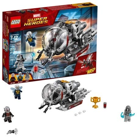 LEGO Marvel Ant-Man Quantum Realm Explorers 76109 Building Set (200 Piece)