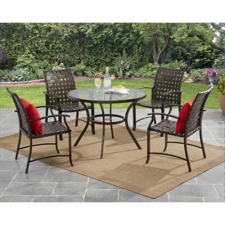 mainstays-willow-valley-4-piece-steel-dining-set-brown